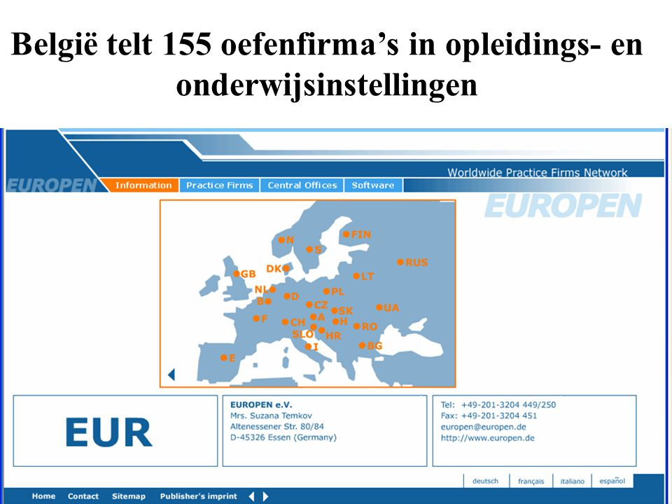 België telt 155 oefenfirma's in opleidings- en onderwijsinstellingen