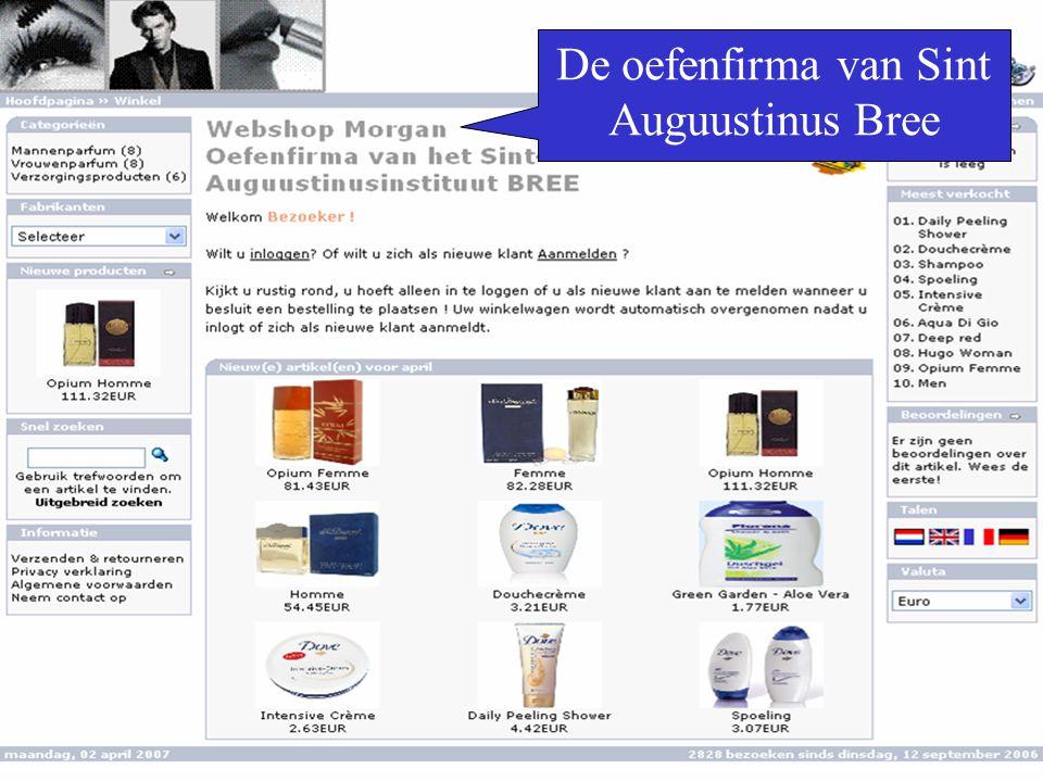 De oefenfirma van Sint Auguustinus Bree