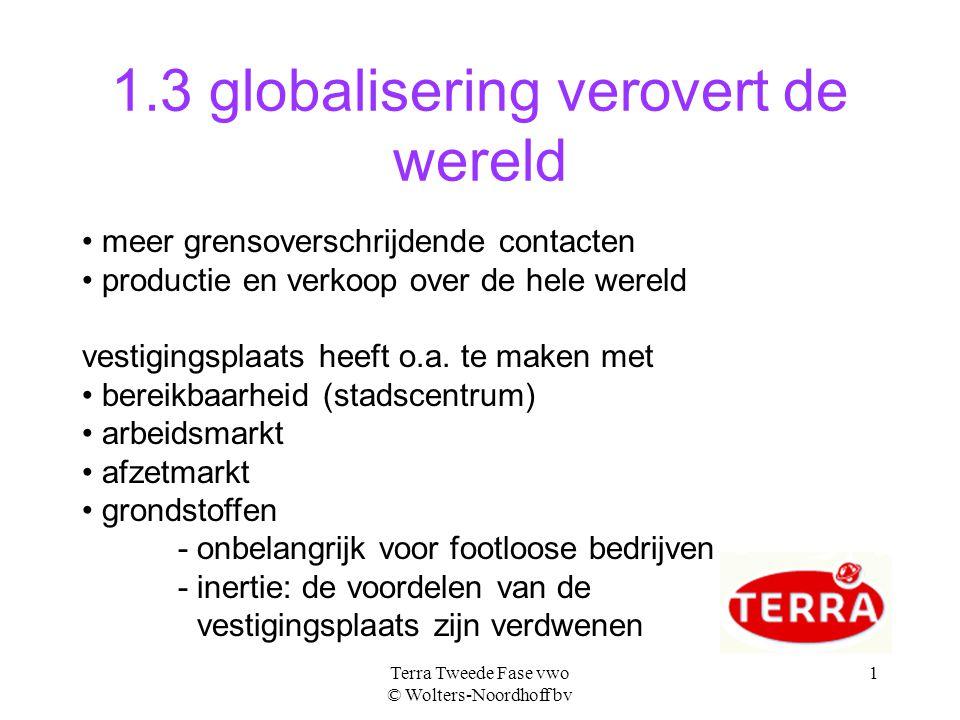 1.3 globalisering verovert de wereld