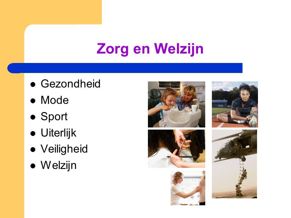 Zorg en Welzijn Gezondheid Mode Sport Uiterlijk Veiligheid Welzijn