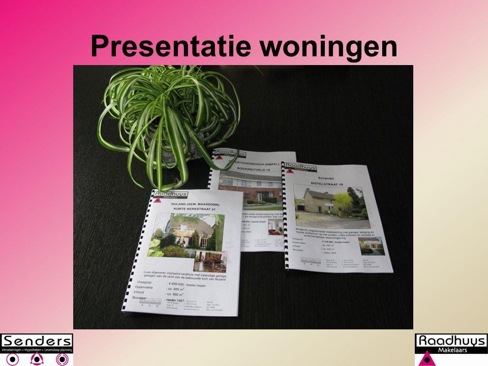 Presentatie woningen