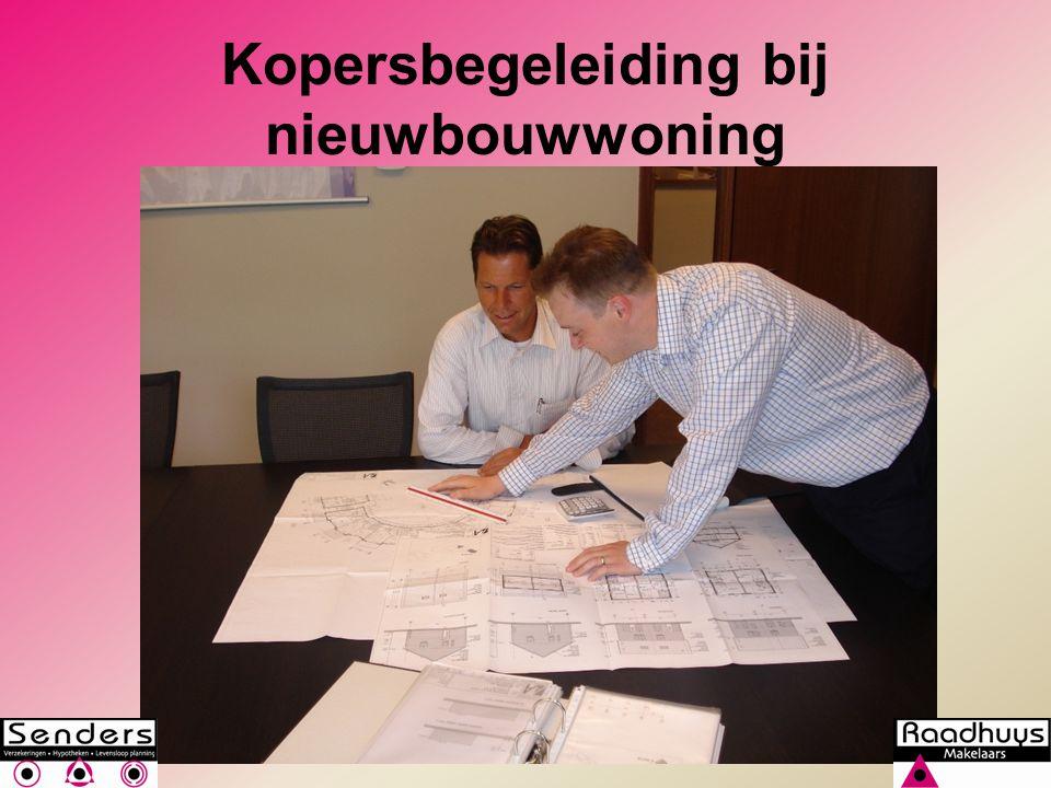 Kopersbegeleiding bij nieuwbouwwoning