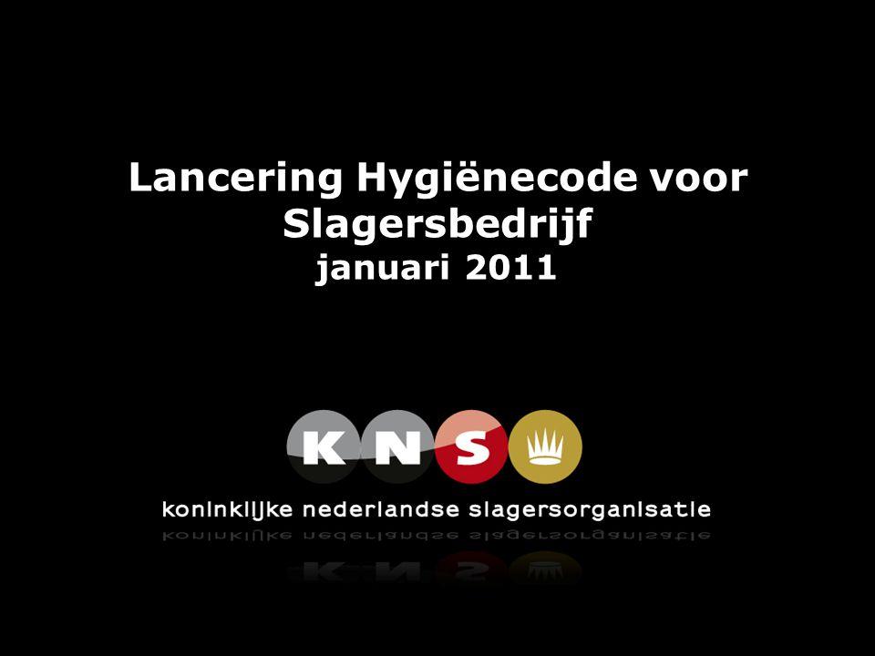 Lancering Hygiënecode voor Slagersbedrijf