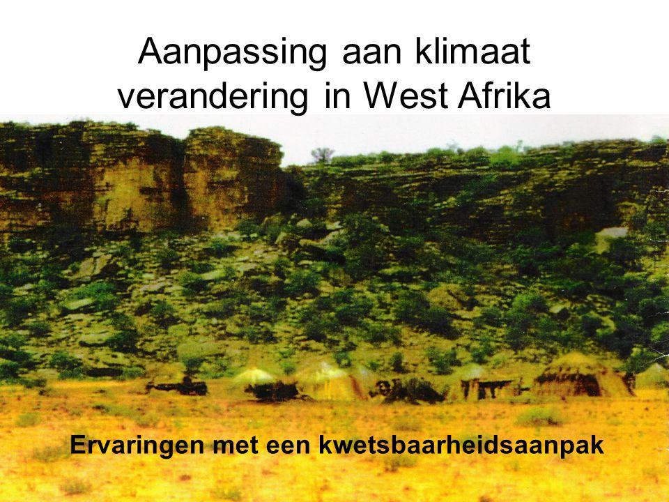 Aanpassing aan klimaat verandering in West Afrika