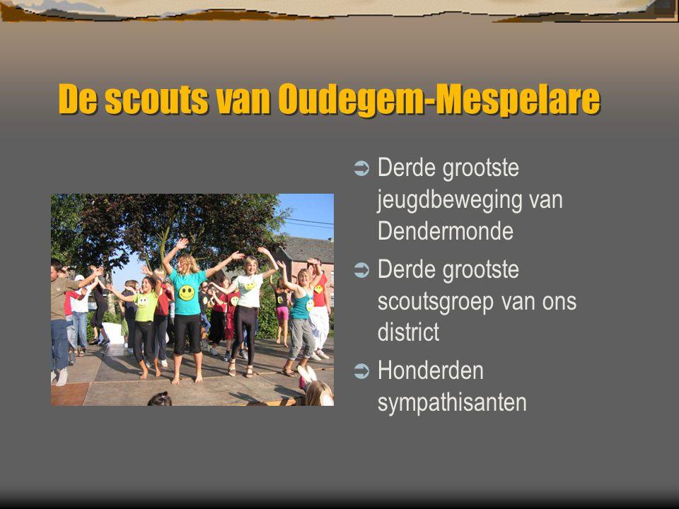 De scouts van Oudegem-Mespelare