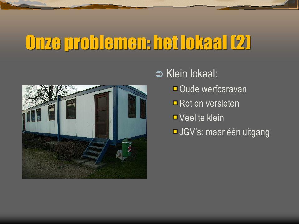 Onze problemen: het lokaal (2)