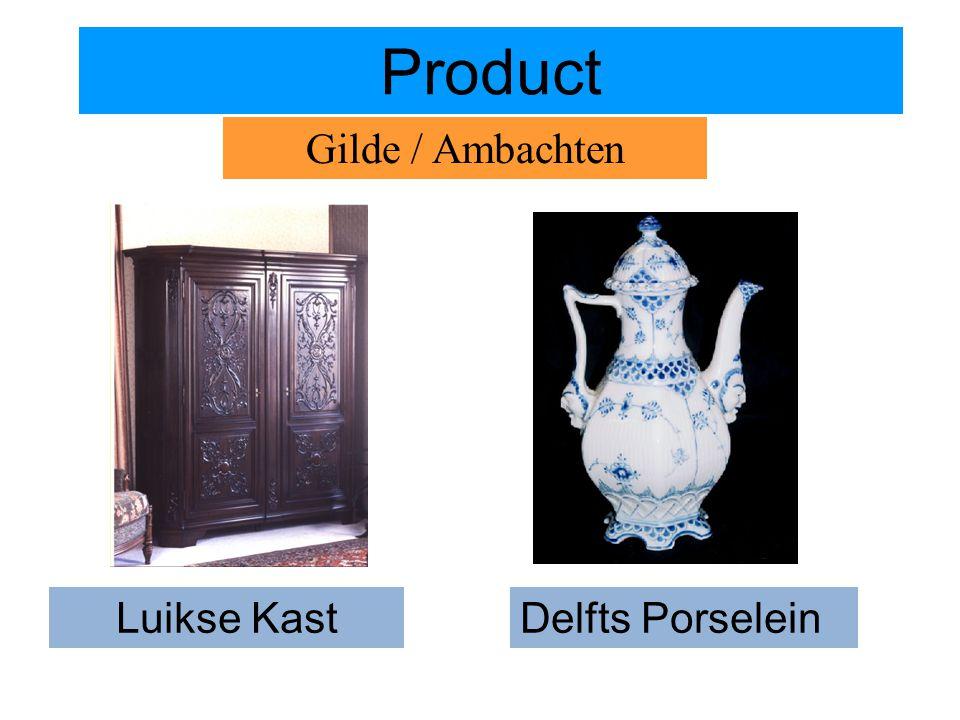 Product Gilde / Ambachten Luikse Kast Delfts Porselein