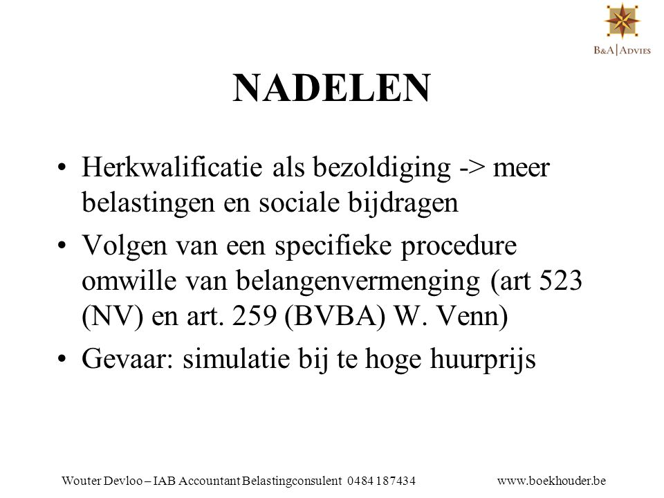 WOUTER DEVLOO TEL 053 81 01 25 NADELEN.