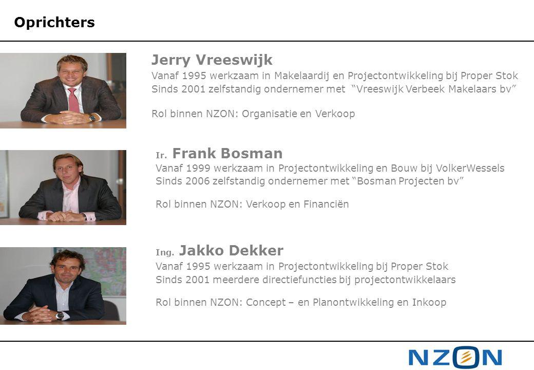 Oprichters Jerry Vreeswijk