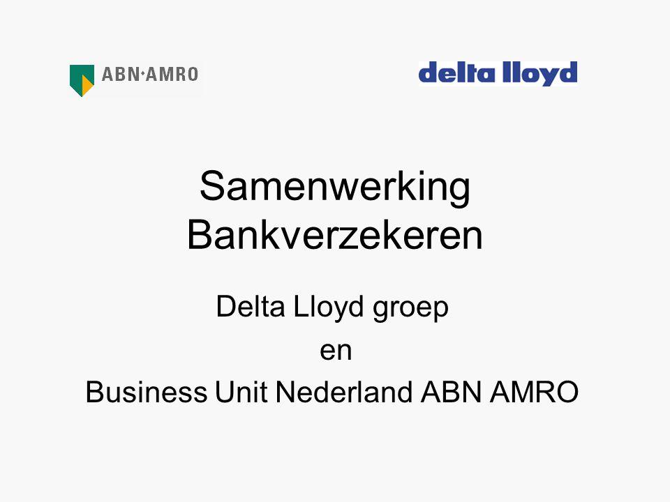 Samenwerking Bankverzekeren