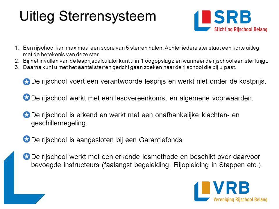 Uitleg Sterrensysteem