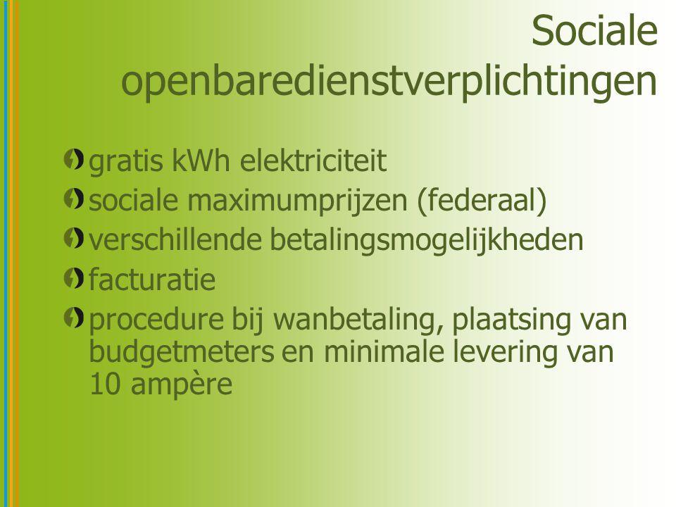 Sociale openbaredienstverplichtingen