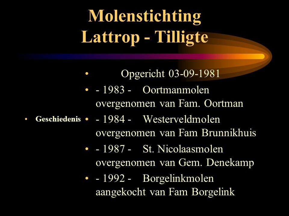 Molenstichting Lattrop - Tilligte