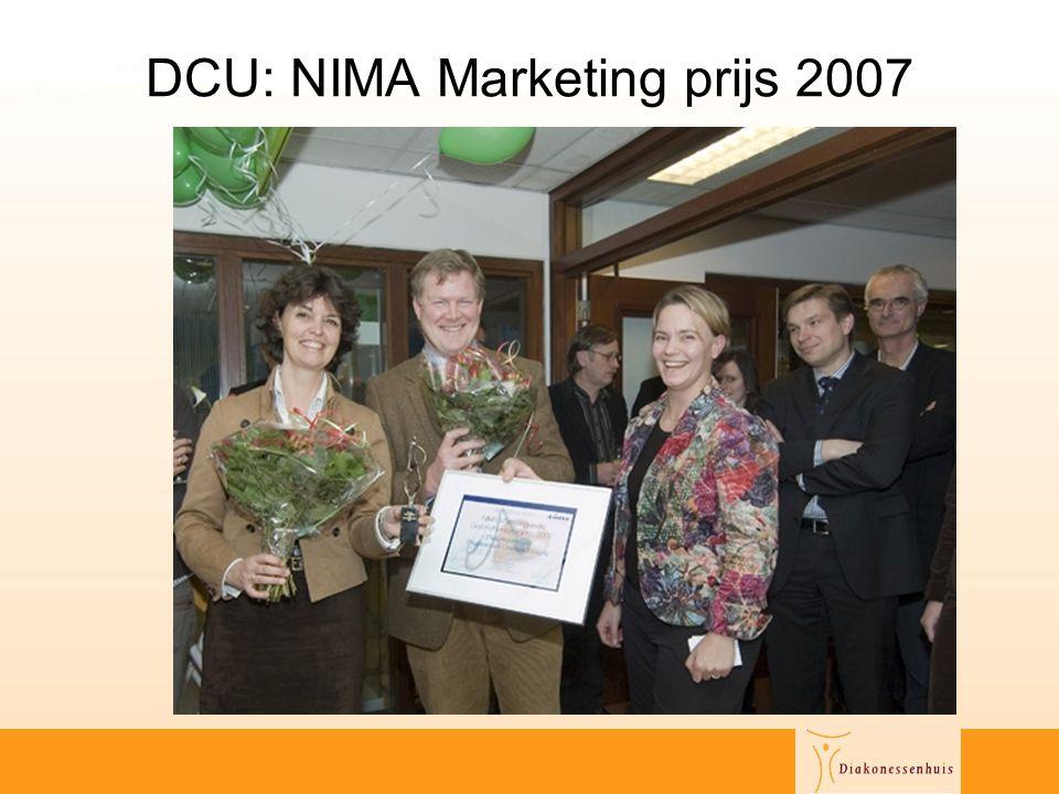 DCU: NIMA Marketing prijs 2007