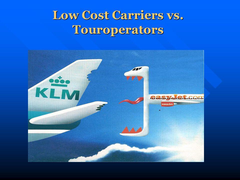 Low Cost Carriers vs. Touroperators