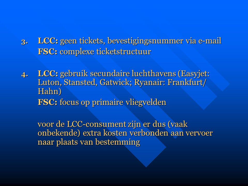 FSC: complexe ticketstructuur