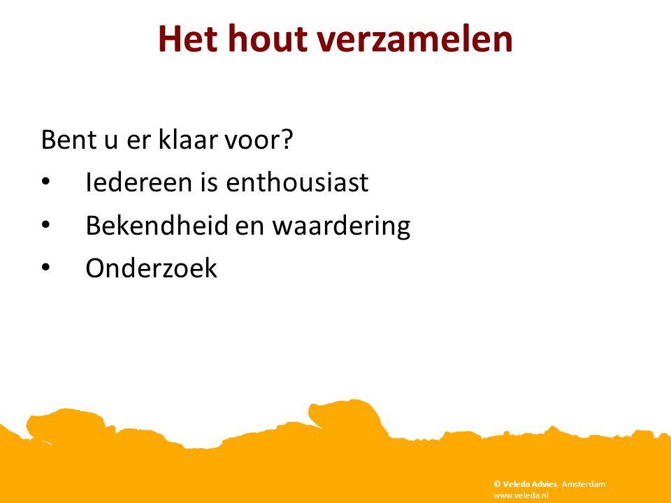 Copyright Veleda Advies, Amsterdam. www.veleda.nl