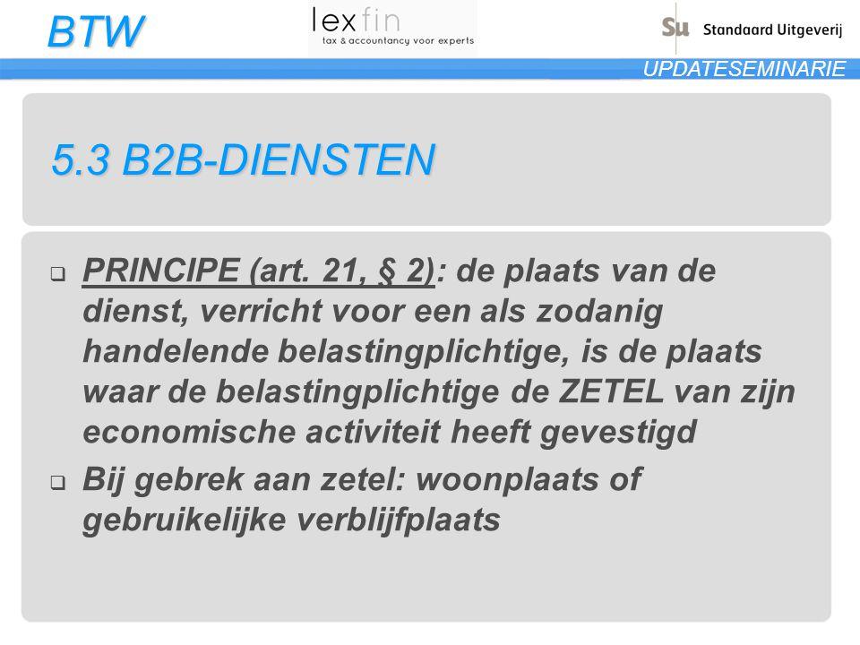 5.3 B2B-DIENSTEN