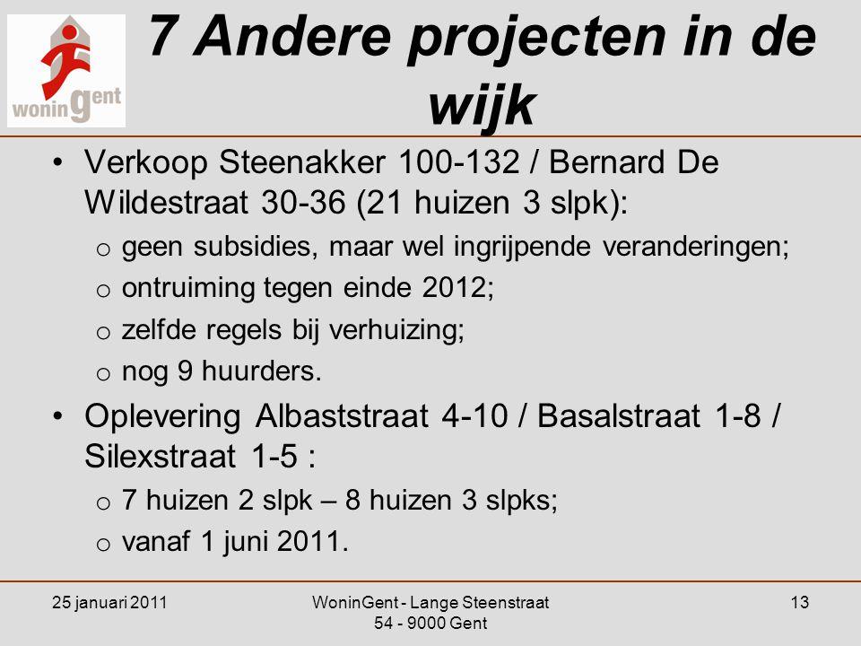 7 Andere projecten in de wijk
