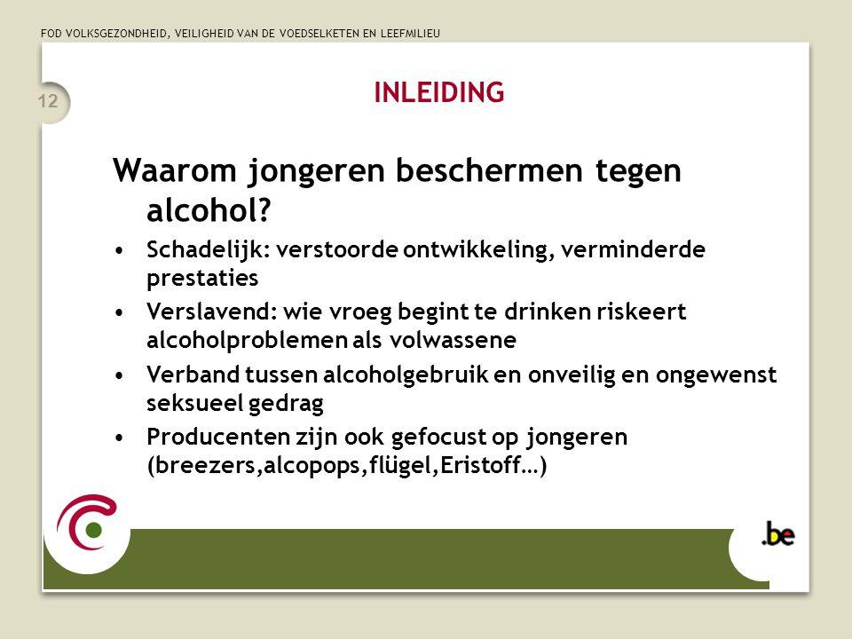 Waarom jongeren beschermen tegen alcohol