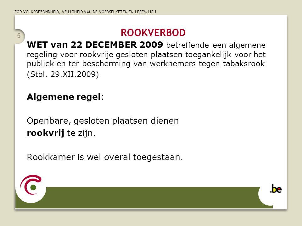 ROOKVERBOD 5.