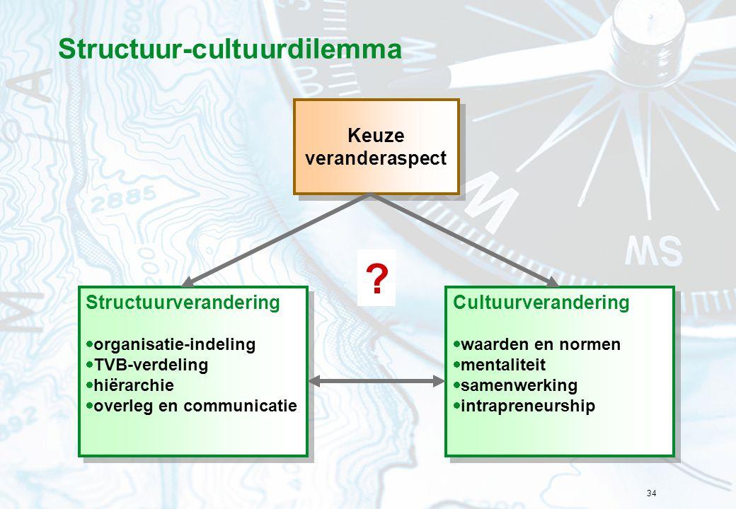 Structuur-cultuurdilemma