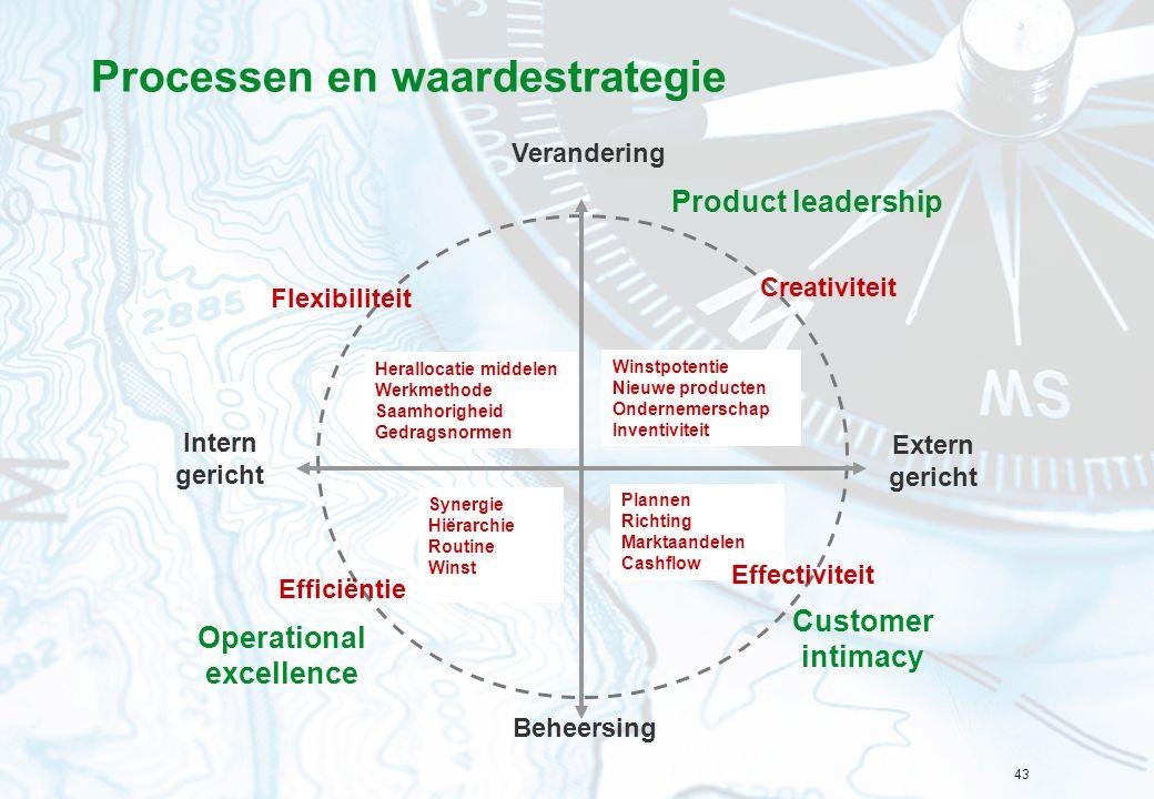 Processen en waardestrategie