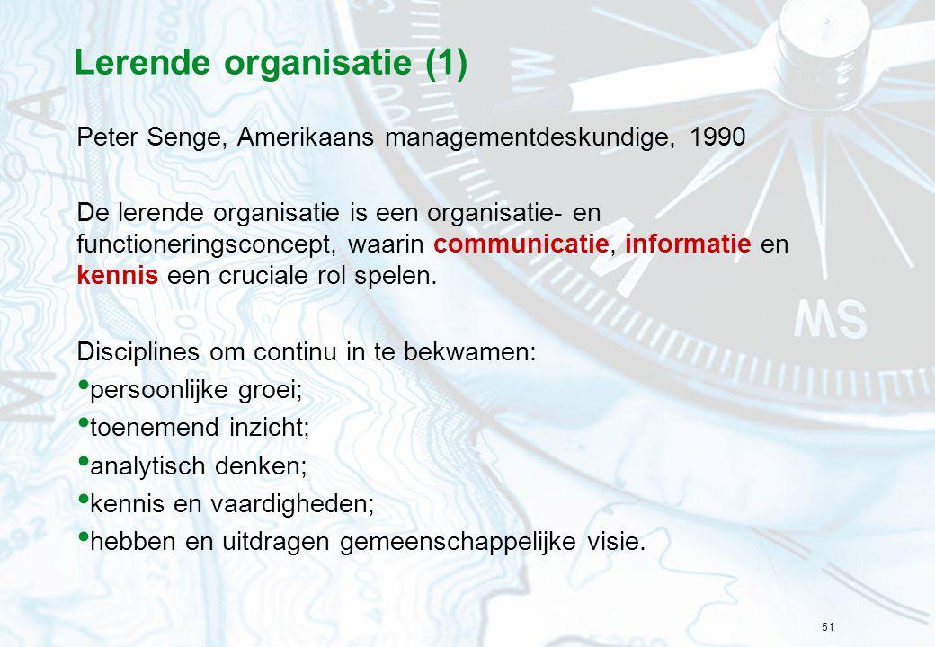 Lerende organisatie (1)