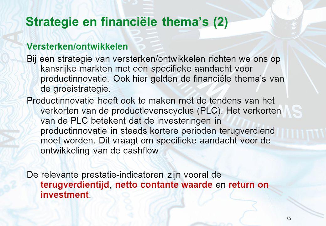 Strategie en financiële thema's (2)