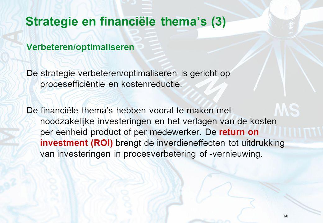Strategie en financiële thema's (3)