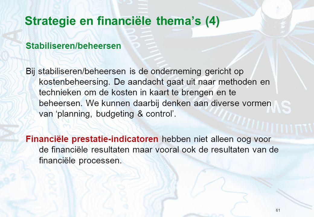 Strategie en financiële thema's (4)