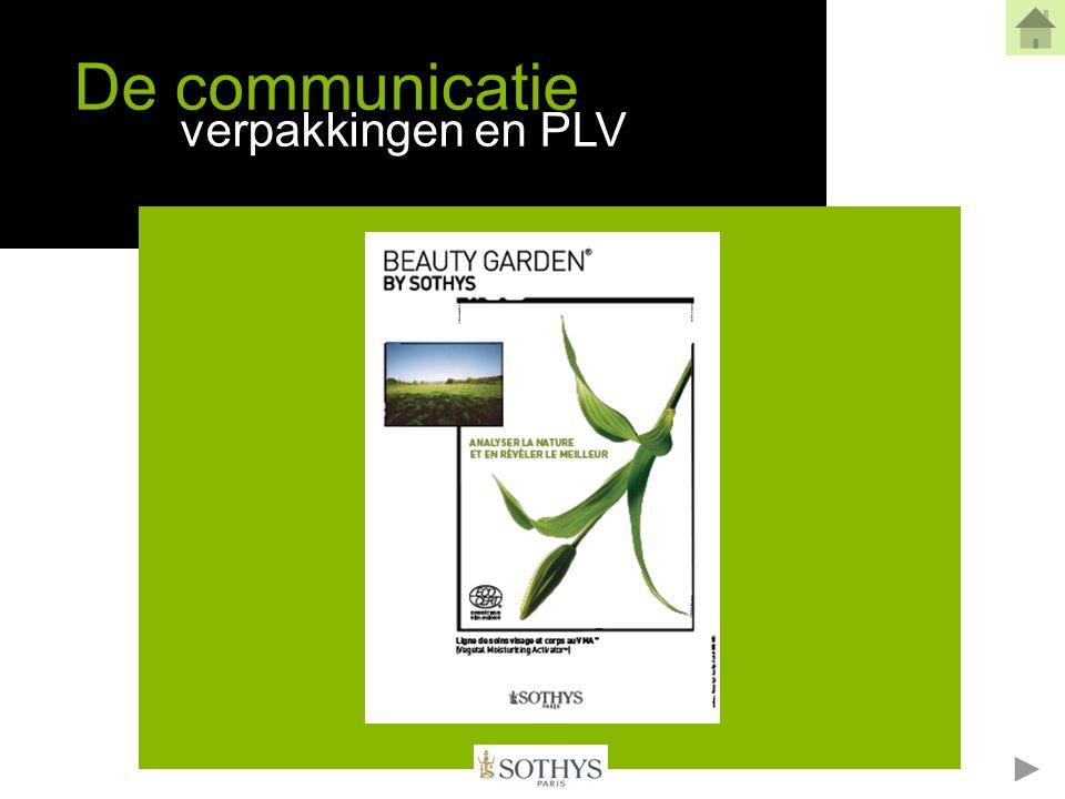 De communicatie verpakkingen en PLV
