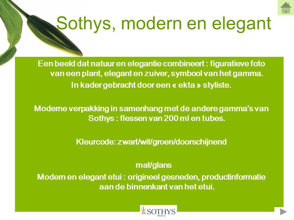 Sothys, modern en elegant