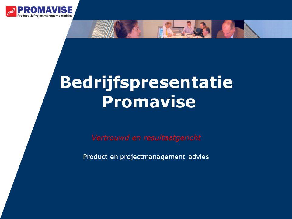 Bedrijfspresentatie Promavise
