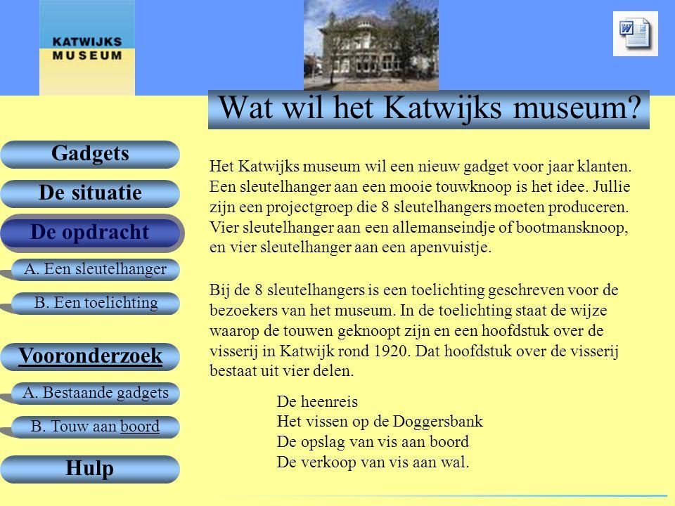Wat wil het Katwijks museum
