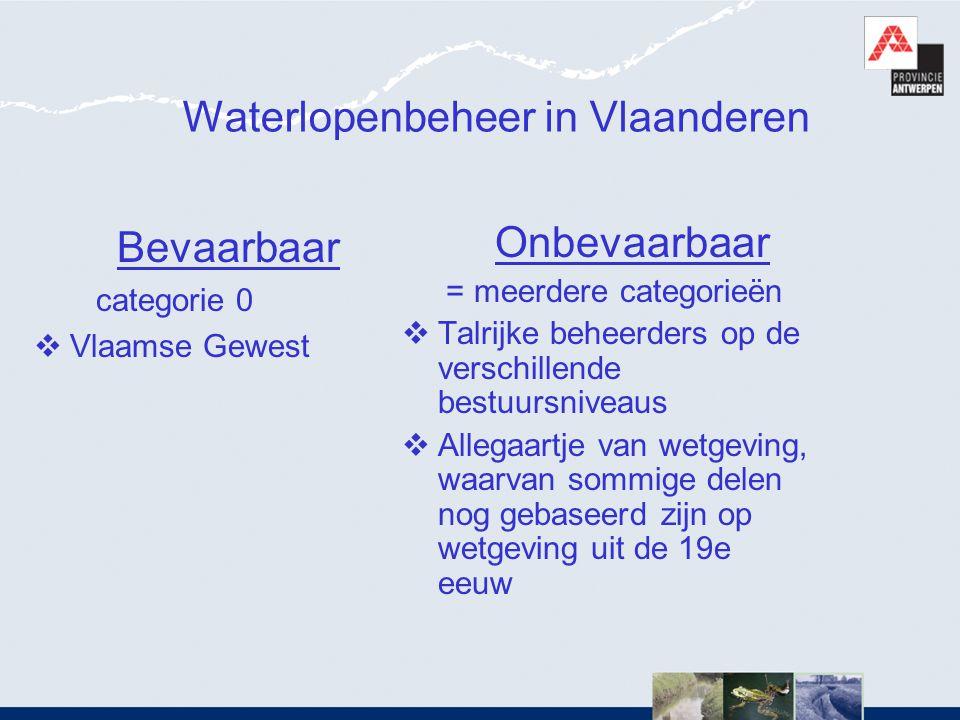 Waterlopenbeheer in Vlaanderen