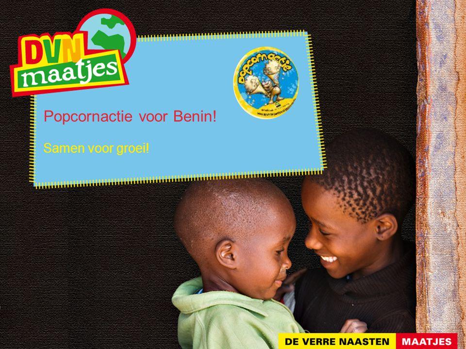Popcornactie voor Benin!
