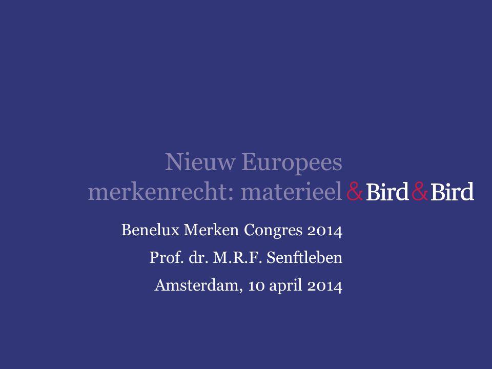 Nieuw Europees merkenrecht: materieel
