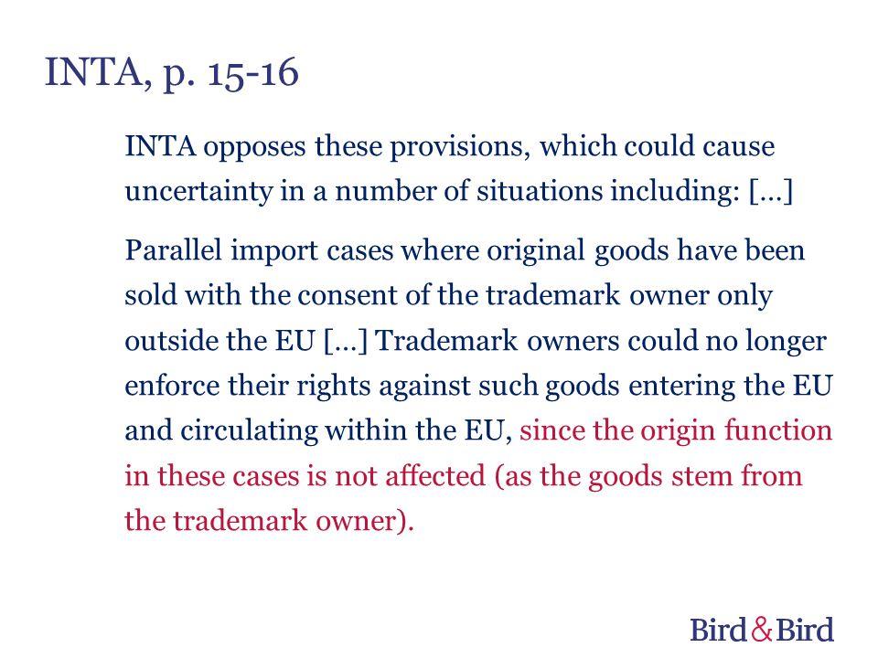 INTA, p. 15-16