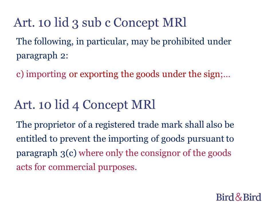 Art. 10 lid 3 sub c Concept MRl