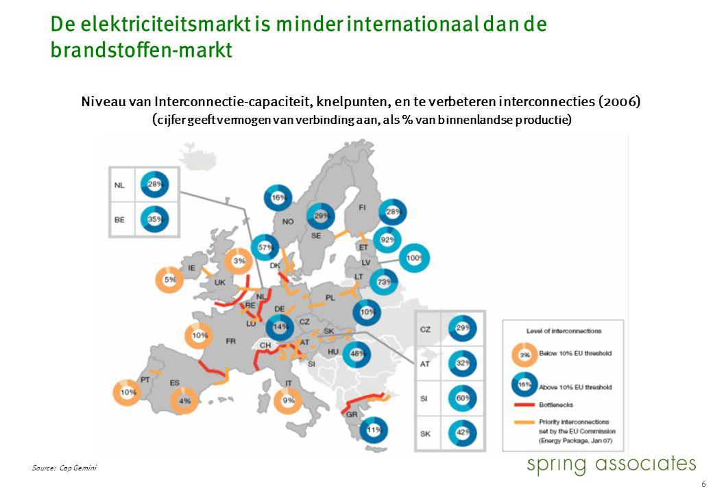 34 De Nederlandse bedrijven kunnen niet de leiding nemen in de consolidatieslag. Illustratief. 2000.