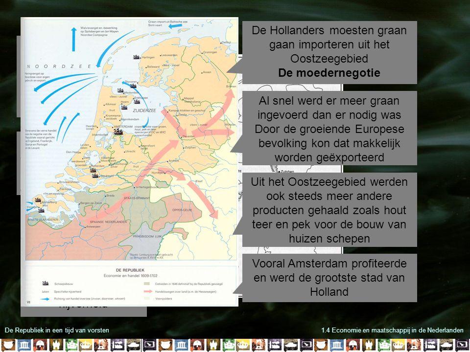 De Hollanders moesten graan gaan importeren uit het Oostzeegebied
