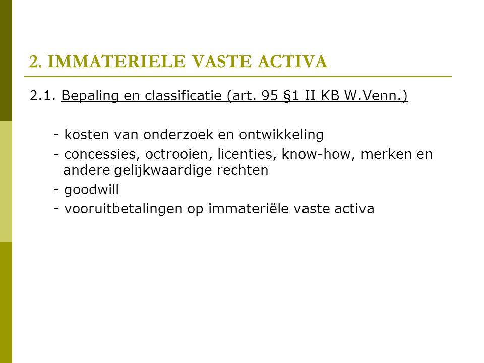 2. IMMATERIELE VASTE ACTIVA