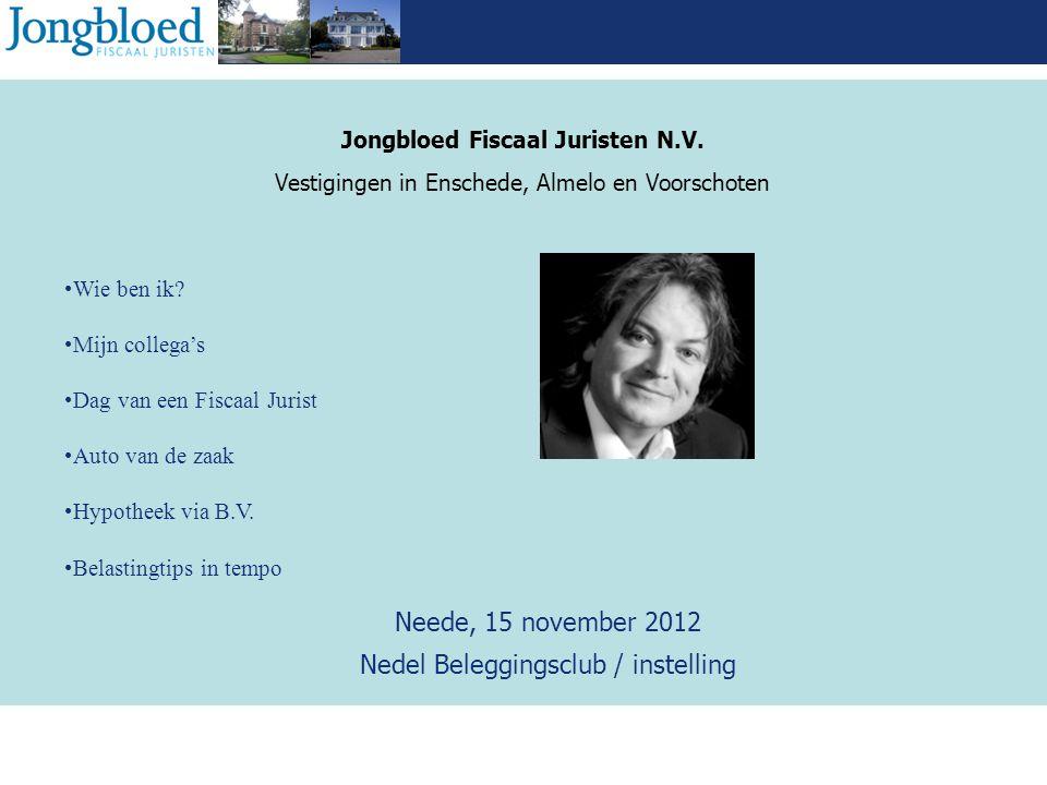 Jongbloed Fiscaal Juristen N.V.