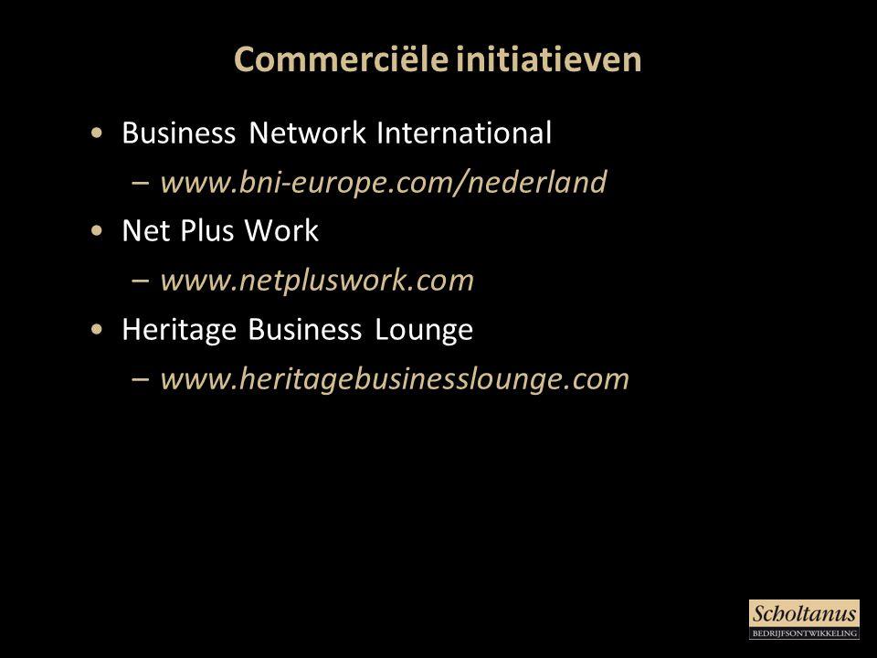 Commerciële initiatieven
