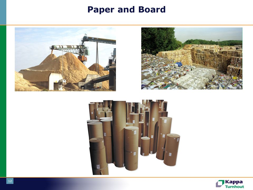Paper and Board Eerste tak: paper and board.