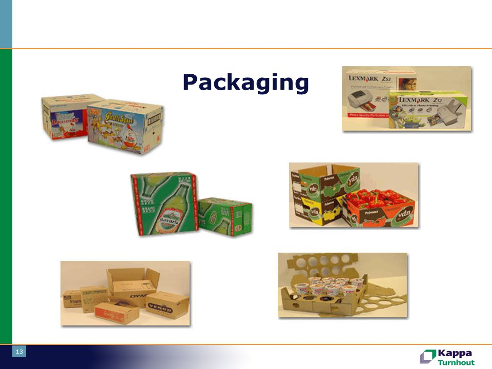 Packaging Tweede tak: packaging.