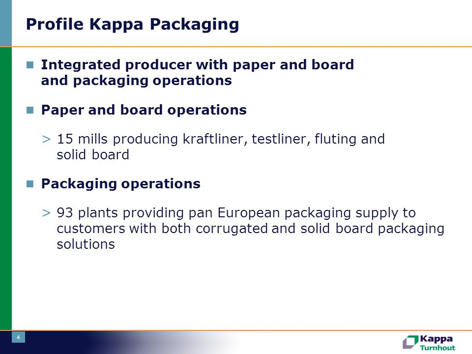 Profile Kappa Packaging