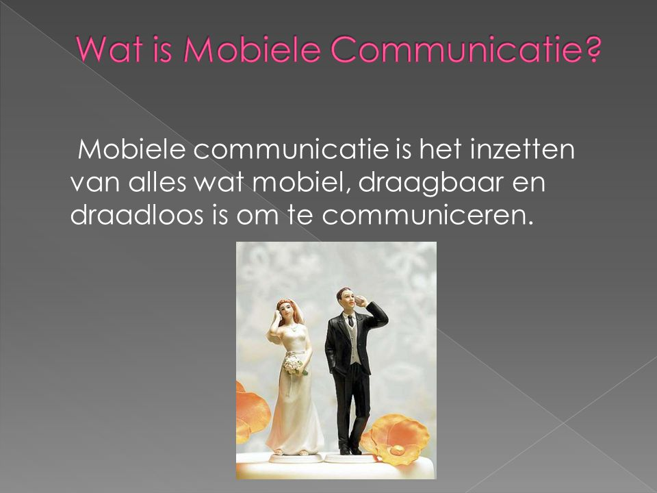 Wat is Mobiele Communicatie