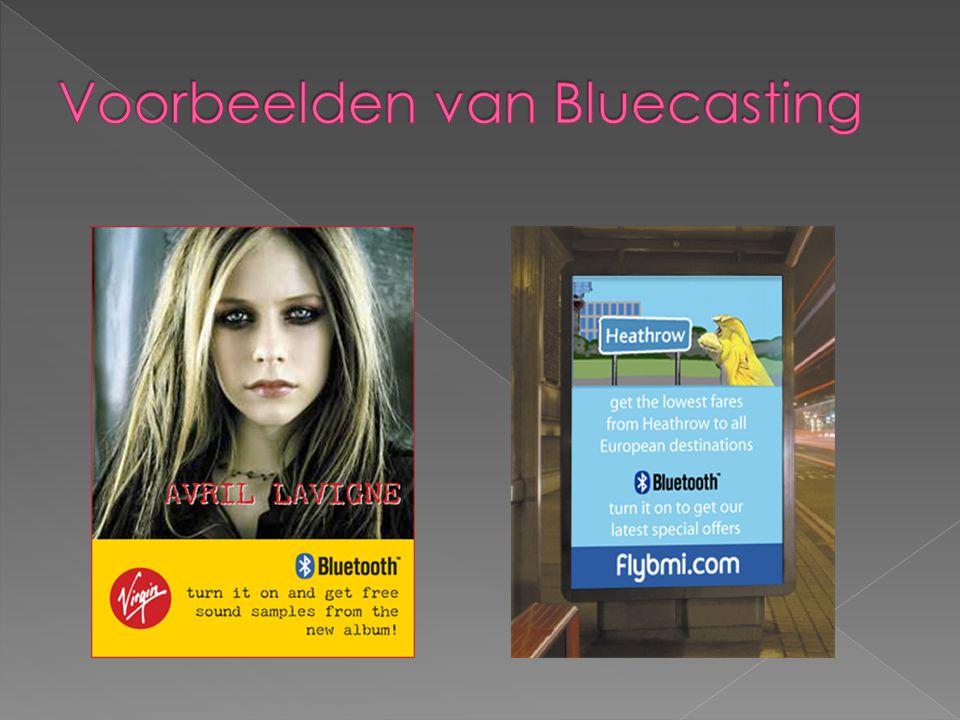 Voorbeelden van Bluecasting